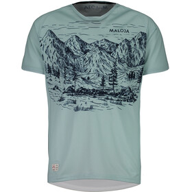 Maloja SerlasM. Short Sleeve Multisport Jersey Men cliff